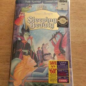 Limited Edition Disney Sleeping Beauty VHS